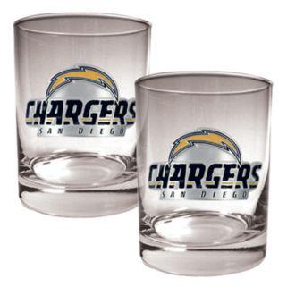 San Diego Chargers 2-pc. Rocks Glass Set