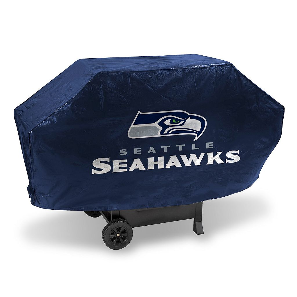 Seattle Seahawks Deluxe Grill Cover