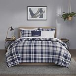 Madison Park Essentials Paton Reversible Complete Bedding Set