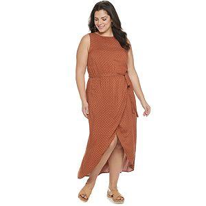 Plus Size Apt. 9® Tulip Hem Midi Dress