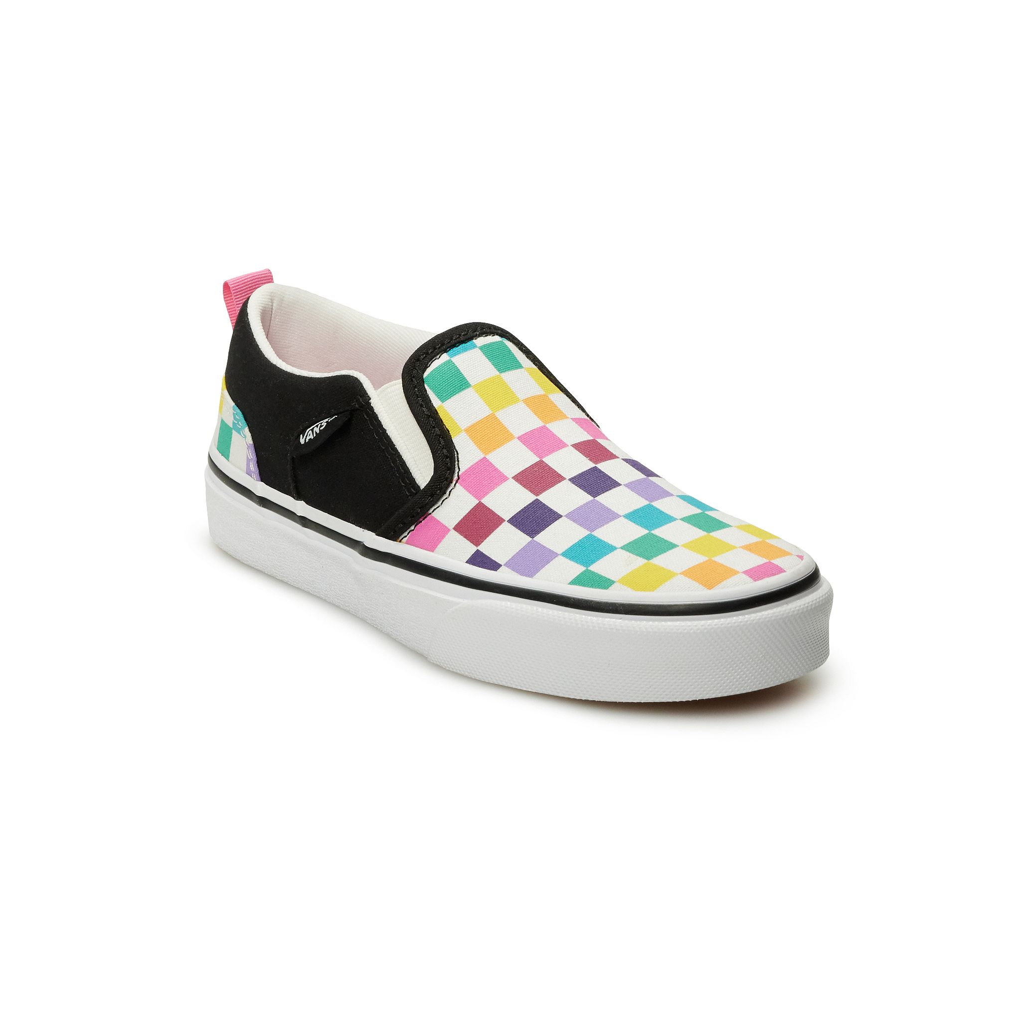 Vans Asher Kids Skate Shoes (various colors/sizes)