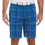 Men's Jack Nicklaus Classic-Fit Plaid Performance Golf Shorts