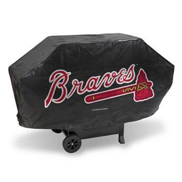 Atlanta Braves Deluxe Grill Cover