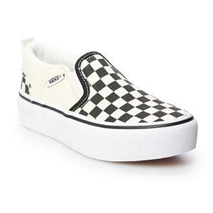 Vans Asher Girls' Platform Skate Shoes