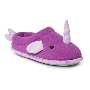 Dearfoams Narwhal Kids' Clogs