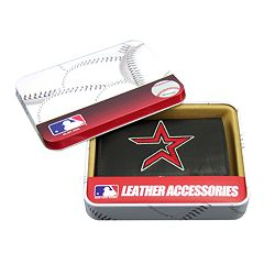 Houston Astros Trifold Leather Wallet