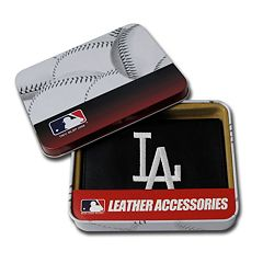 Los Angeles Dodgers Trifold Leather Wallet