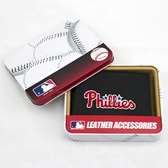 Philadelphia Phillies Trifold Leather Wallet