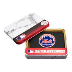 New York Mets Trifold Leather Wallet
