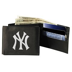 New York Yankees Bifold Leather Wallet