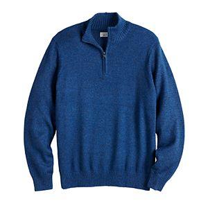 Men's Croft & Barrow® Regular-Fit 7GG Quarter-Zip Sweater