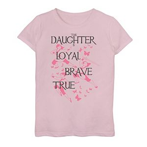 Girls 7-16 Disney's Mulan This Daughter Is Loyal Brave True Graphic Tee