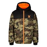Boys Hurley 8-20 Hooded Puffer Jacket