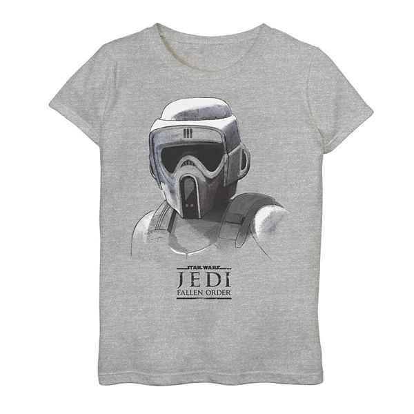 Girls 7 16 Star Wars Jedi Fallen Order Grayscale Scout Trooper Tee They're not much bigger than two meters.. kohl s