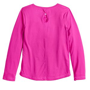 Girls 4-12 Jumping Beans® Keyhole Back Active Tee