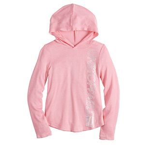 Girls 4-12 Jumping Beans® Active Hoodie Cozy Knit Top