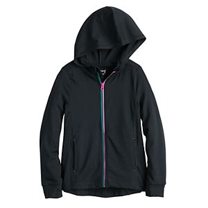 Girls 4-12 Jumping Beans® Active Zip-Up Hoodie