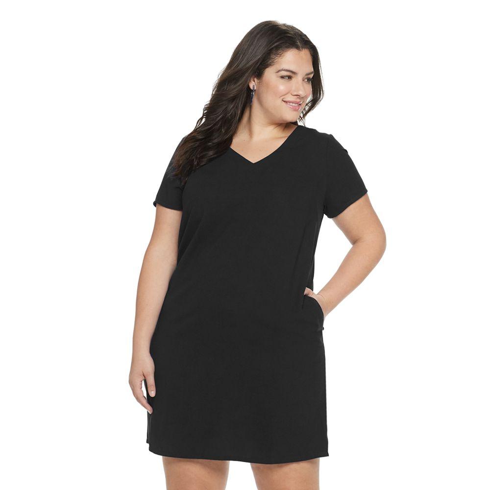 Plus Size Apt. 9® Woven Shift Dress