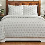 Better Trends Athenia Collection Cotton Chenille Comforter Set