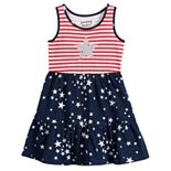 Toddler Girl Jumping Beans® Patriotic Racerback Tiered Dress