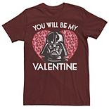 Men's Star Wars Darth Vader Be My Valentine Tee