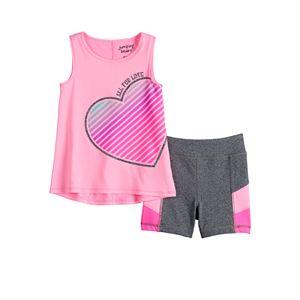 Toddler Girl Jumping Beans® Tank & Shortie Shorts Set