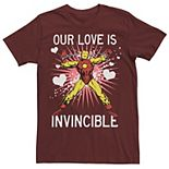 Men's Marvel Iron Man Our Love Is Invincible Tee