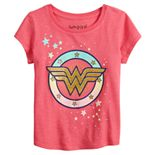 Toddler Girl Jumping Beans® Retro Wonder Woman Stripes Tee