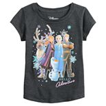 Disney's Frozen 2 Toddler Girl Hello Adventure Group Picture Tee by Jumping Beans®