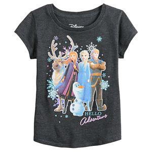 Disney Girls Frozen 2 Group T-Shirt