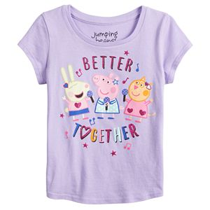 Toddler Girl Jumping Beans® Peppa Pig Better Together Tee