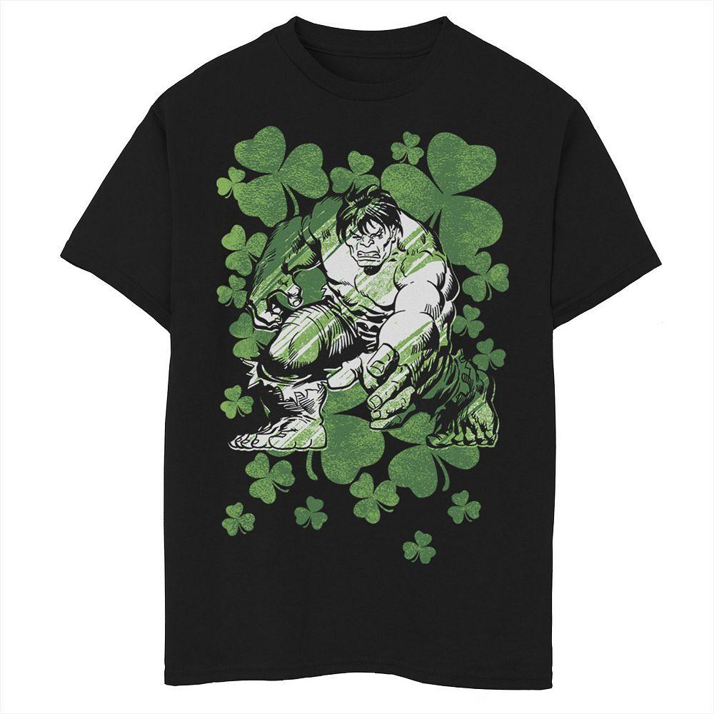 Boys 8-20 Marvel Lucky Hulk Graphic Tee
