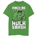 Boys 8-20 Marvel Hulk Smash Pinch Graphic Tee