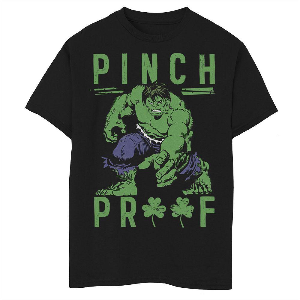 Boys 8-20 Marvel Green Pinch Graphic Tee