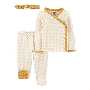 Baby Girl Carter's 3-Piece Take-Me-Home Set