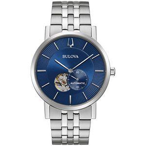 Bulova Men's Automatic Stainless Steel Watch - 96A247K