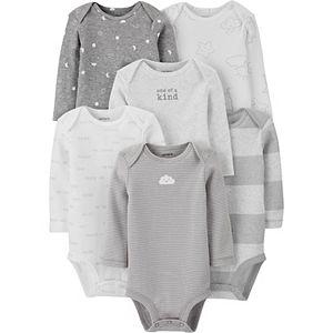 Baby Carter's 6-Pack Long-Sleeve Original Bodysuits