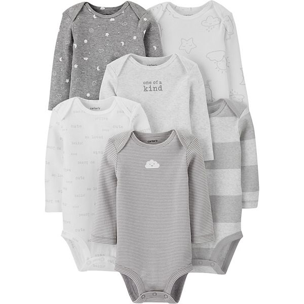 Baby Carter's Long-Sleeve Bodysuits