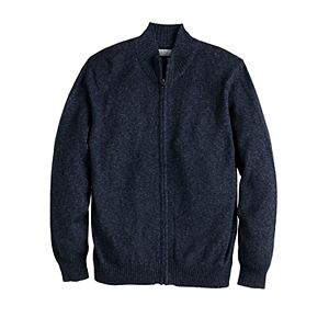 Men's Croft & Barrow® Extra Soft Full-Zip Sweater