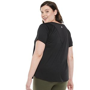 Plus Size Tek Gear® Triangle-Back Athletic Top