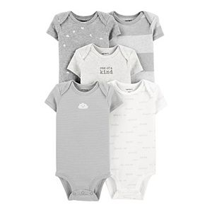 Baby Carter's 5-Pack Cloud Original Bodysuits