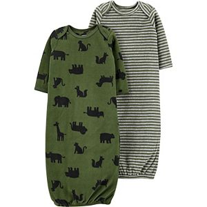 Baby Boy Carter's 2-Pack Sleeper Gowns