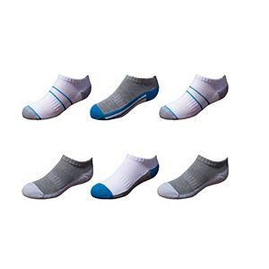 Boys Tek Gear® Cushioned 6-pack Performance No-Show Socks