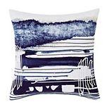 Sean John Dori Blue Square Throw Pillow