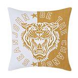 Sean John Tiger Square Throw Pillow