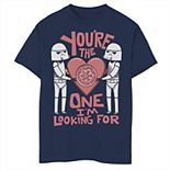 Boys 8-20 Star Wars Valentines The One I'm Looking For Tee