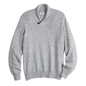Men's Croft & Barrow® Regular-Fit 7GG Shawl-Collar Sweater