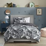 Mi Zone Kids Carter Printed Dino Camo Comforter Set