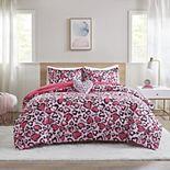 Mi Zone Kids Arianna Hot Pink Animal Printed Comforter Set