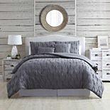 Modern Threads 5-piece Harper Comforter Set with Coordinating Throw Pillows